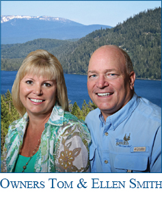 Tom Smith and Ellen Smith, owners & brokers
